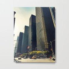 New York xi Metal Print