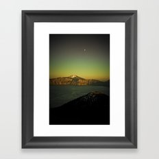 Man from Earth Framed Art Print