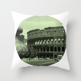 Colosseum #2 Throw Pillow