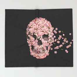 A Beautiful Death  Throw Blanket