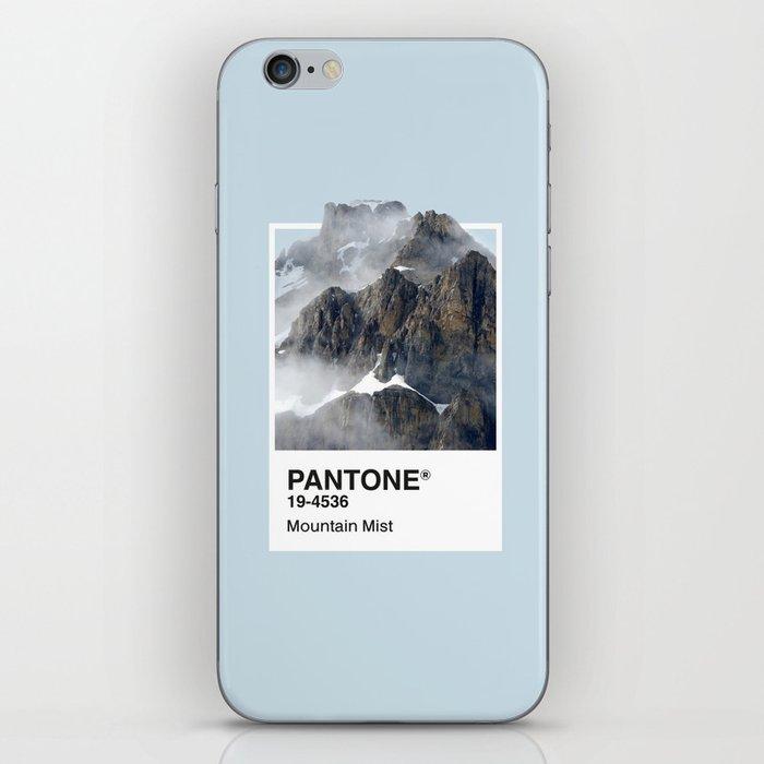 Pantone Series – Mountain Mist iPhone Skin
