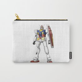 White Mobile Suit Carry-All Pouch
