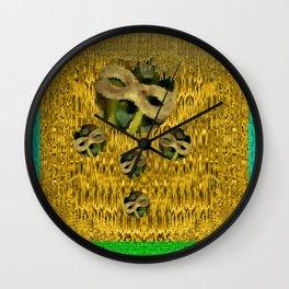 Fantasy  Masquerade Wall Clock