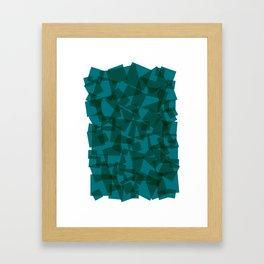 Square // Minimalistic Framed Art Print