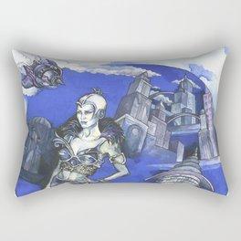 Future City Rectangular Pillow