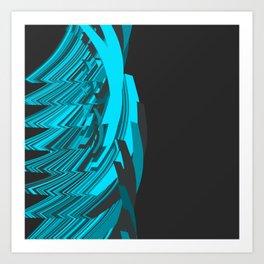 Weird Abstraction Art Print
