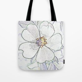 They call me the wild, wild rose Tote Bag