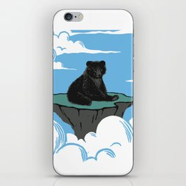 Lonely Bear iPhone Skin