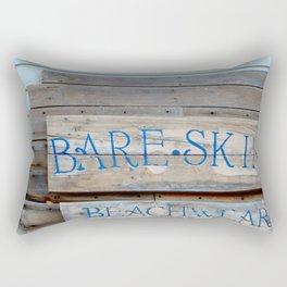 Bare Skin Beachwear Rectangular Pillow