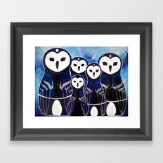 Matroshka Guardians Framed Art Print