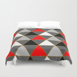 Abstract #427 Duvet Cover