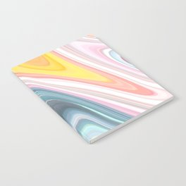 Marble Waves Notebook