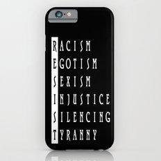 Resist : a political protest Slim Case iPhone 6s