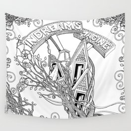 IN DREAMS (mugs, blankets, tapestries) Wall Tapestry