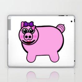 Girly Stuffed Pig Laptop & iPad Skin