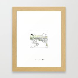 Turin - Murazzi Framed Art Print