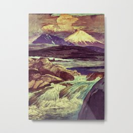 The Rising Fall Metal Print