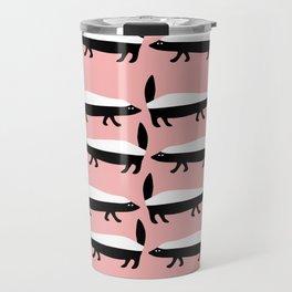 The Honey Badger Parade Travel Mug