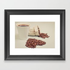 Coffee Love Framed Art Print