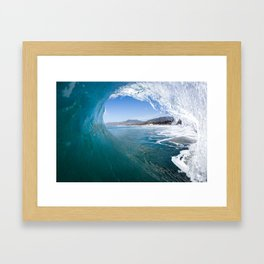 Best Seat In The House Framed Art Print