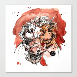 The Boar Canvas Print