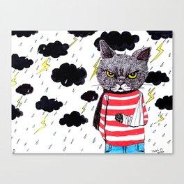 When It Rains, It Pours... Canvas Print