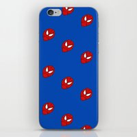 spider man iPhone & iPod Skins featuring Spider.  Man.   by Designs By Misty Blue (Misty Lemons)