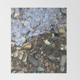 River Throw Blanket