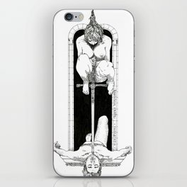 Sword of Damocles iPhone Skin
