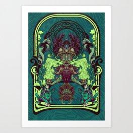 Poison dart Art Print