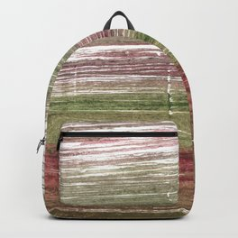 Striped abstract Backpack