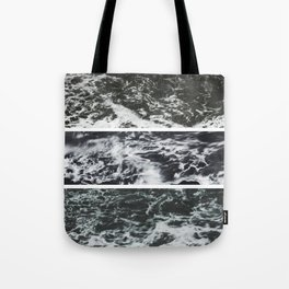 Saltwater Trytych Var II - blacks Tote Bag