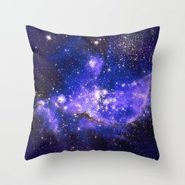 Infant Stars in Neighbouring Galaxy Throw Pillow