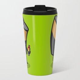Drained Battery Travel Mug