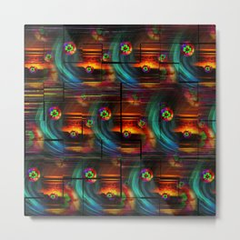 Abstract in Perfection -Good Luck Metal Print
