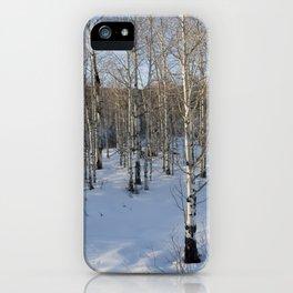 Colorado Tress iPhone Case