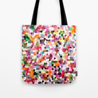 mosaic Tote Bags featuring Mosaic by Laura Ruth