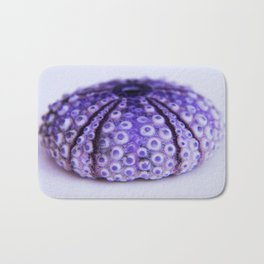 purple urchin Bath Mat