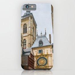 Gros Horloge iPhone Case