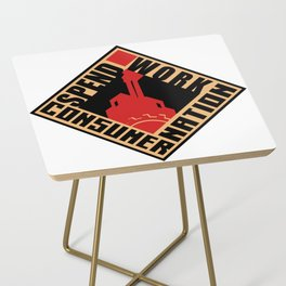 Consumer Nation Side Table