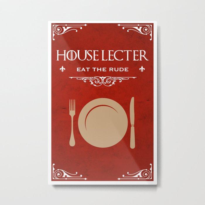 House Lecter Metal Print