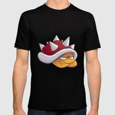 Spiny Black SMALL Mens Fitted Tee