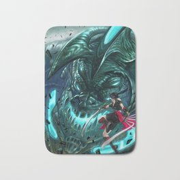 Monster Hunter Files Bath Mat