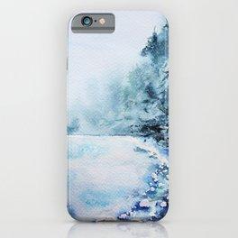 Winter fun iPhone Case