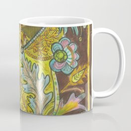 Lush yellows & Browns Coffee Mug