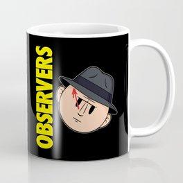Who Observes the Observers? Coffee Mug