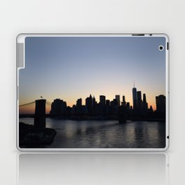 Manhattan From The Manhattan Bridge Laptop & iPad Skin