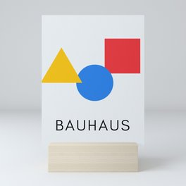 Bauhaus - Geometric Art Mini Art Print