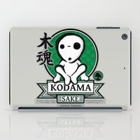 kodama iPad Cases featuring Kodama Sake by adho1982