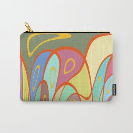Distorted squares and circles Carry-All Pouch